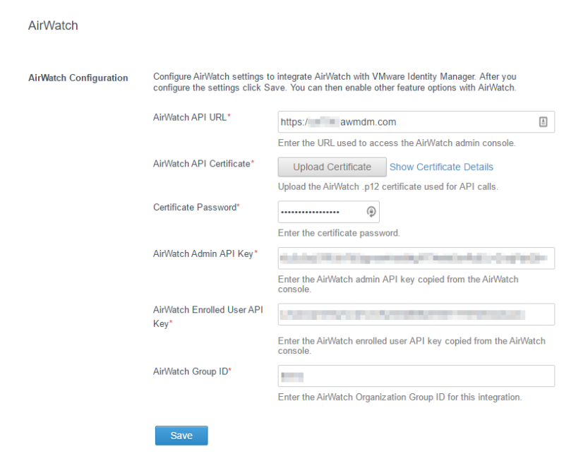 Setting Up Airwatch For Integration With Identity Manager Part 2