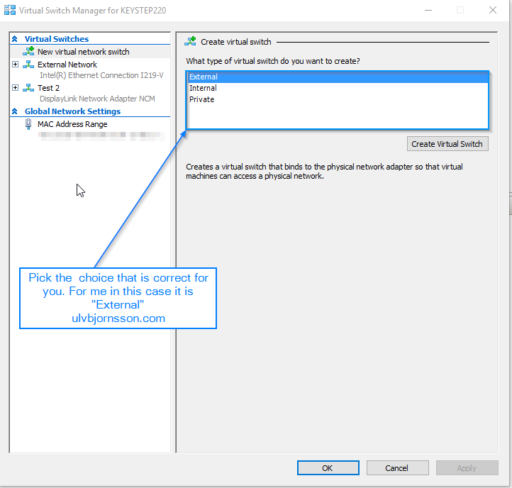 Hyper-V Manager: failed to change state  The operation failed with