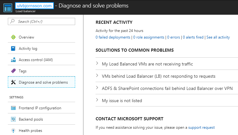 Creating a Load Balancer in the Microsoft Cloud: Azure